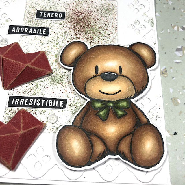 [Dreamerland Crafts] Card Big Teddy Bear